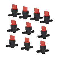 "10 X 1/4"" In-Line Straight Fuel Gas Cut-Off/Shut-Off Valves For Small-Engines"