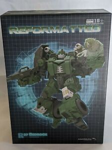 Mastermind Creations Reformatted MMC Bedrock Bulkhead Transformers BOX ONLY