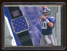 2004 UD ELI MANNING RC ROOKIE FUTURES JERSEYS GAME WORN  GIANT'S SUPER BOWL QB !