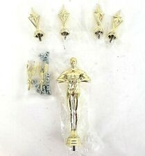 Victory Male Trophy Achievement Topper Plastic Lot of 43 W/Stars And Metal Birds