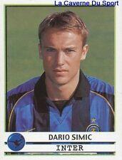 130 DARIO SIMIC CROATIA INTER STICKER CALCIATORI 2002 PANINI