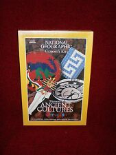 "National Geographic Curiosity Kit ""treasure of Ancient Cultures"" New, Sealed"