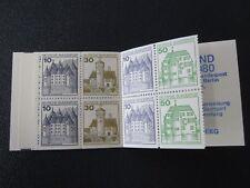 Duitsland Germany 1980, postzegelboekjes MH 23 & 24 postfris (MNH)
