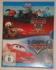 Cars Toon Hooks unglaubliche Geschichten + Cars   Blu Ray NEU OVP Walt Disney