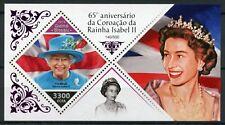 More details for guinea-bissau royalty stamps 2018 mnh queen elizabeth ii coronation 1v foil s/s