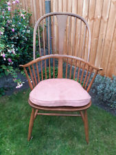 More details for vintage  ercol  windsor chairmakers fireside armchair (model 473)