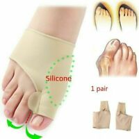 2PCS Big Toe Separator Orthopedic Bunion Corrector Pain Relief Hallux Valgus
