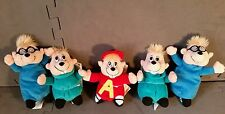 GEMMY ALVIN & THE CHIPMUNKS SIMON THEADOR BEANBAG PLUSH DOLLS 6,7,8 INCH