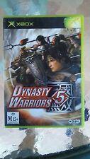 XBOX Original Game - Dynasty Warriors 5