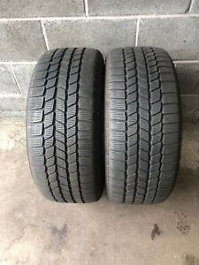 2 x 245 55 17  CONTINENTAL ContiWinterContact TS810S RUNFLAT WINTER TYRES