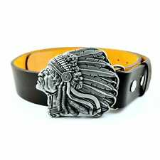 Chief Navajo Native American Red Indian Belt Buckle Exeter Chiefs Rugby Biker