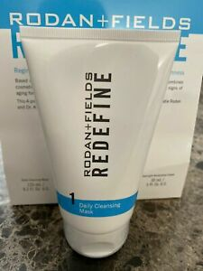 Rodan + Fields REDEFINE Daily Cleansing Mask, Step 1 New/Sealed 125ML/4.2 fl oz