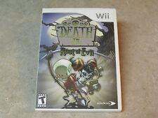 Death Jr Root of Evil (Nintendo Wii, 2008)