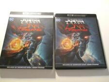 Justice League Dark: Apokolips War (Blu-ray 4K, 2020) No Case Never View 1-Disc