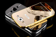 Samsung Galaxy S3 Bumper + Back With Mirror Finish Case Cover For Samsung S3 Gld