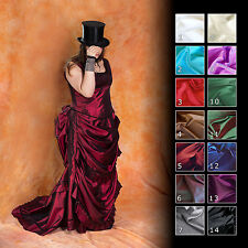 Viktorianisch Historisch Tournürenkleid Bustle Ball  Kleid, Maßgeschneidert