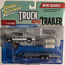 New Johnny Lightning Truck and Trailer 1996 Dodge Ram Version B Release 1