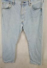 Levi Strauss 501 para hombre Jeans, W36 L30, Azul Claro, Buen Estado