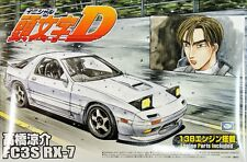 Aoshima 39526 Mazda RX-7 FC3S Initial D Project D Version 1/24 scale kit