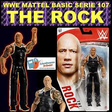 WWE MATTEL BASIC SERIE 107 THE ROCK WRESTLING ACTION FIGUR ELITE RAW SMACKDOWN