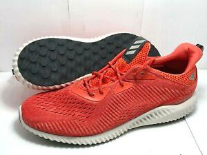 adidas Mens AlphaBounce Shoes Blaze Orange/Scarlet/Utility Black BY4424 - sz 16