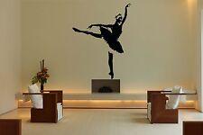 Wall Room Decor Art Vinyl Sticker Mural Decal Ballet Dance Women Ballerina FI374