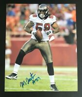 MASON FOSTER NFL Tampa Bay Buccaneers Auto Autographed Signed 8x10 Photo