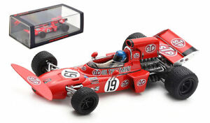 Spark S7262 March 711 #19 'STP' Canadian GP 1971 - Mike Beuttler 1/43 Scale