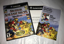 Super Smash Bros Melee (Nintendo GameCube, 2001) Replacement Case Only (no Game)
