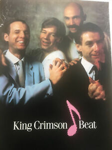 King Crimson Beat 1982 Rare Promo Poster