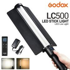 Godox LC500 Adjustable Handle LED Stick Light 3300K-5600K with Remote Control