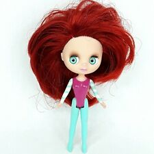 Littlest Pet Shop Blythe doll toy figure Red hair Small