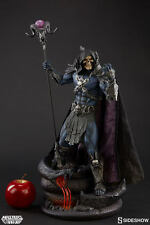 "SIDESHOW Masters of the Universe SKELETOR 21,5"" Resin Statue Motu He-man MOTU"