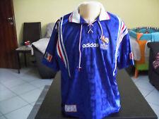 Maillot shirt trikot France euro 96 adidas original rare 1996 vintage L