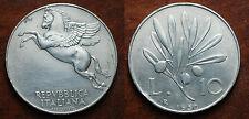 1950  Repubblica Italiana   10  lire