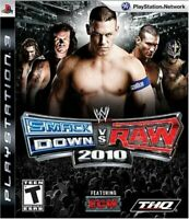 USED PS3 PlayStation 3 WWE Smackdown vs Raw 2010 10889 JAPAN IMPORT