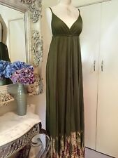 GYPSY 05 Olive Tie-dyed Maxi Dress - Size S