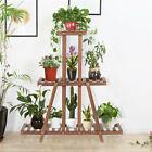 3 Tier Wood Plant Stand Flower Pot Holder for Living Room Corner Indoor Outdoor