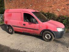 2005 Vauxhall Combo small van Runner but no MOT