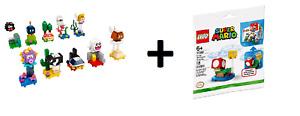 LEGO 71361 Super Mario Character Full Set and 30385 Super Mushroom Expansion