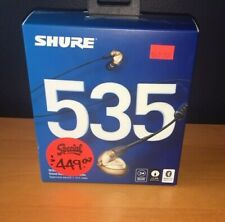 SHURE SE535-V+BT1 Sound Isolating Earphones with Bluetooth - Bronze