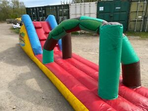 Airspace.   Inflatable long assault course - spares or repair.