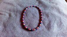 Gay Pride Rainbow wood bead Necklace LGBT Pride Flag  New