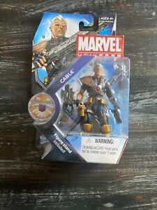 NEW MARVEL UNIVERSE SERIES 3 CABLE 2011 HASBRO 3.75 INCH ACTION FIGURE 007!