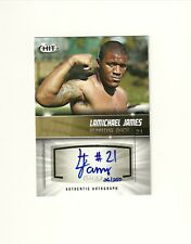 2012 SAGE HIT Autographs Gold #A21 LaMichael James /250 RC Auto Oregon 49ers