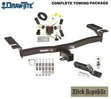 "CLASS 3 TRAILER HITCH PACKAGE w 2"" BALL FOR 2011-2014 FORD EDGE exc SPORT  75992"