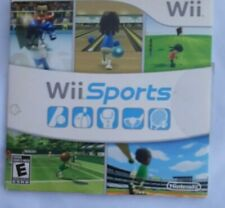Wii Sports Game in Sleeve - With No Manual - Nintendo Wii