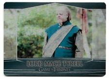 2017 Game of Thrones Valyrian Steel Base Metal Card #56 Lord Mace Tyrell