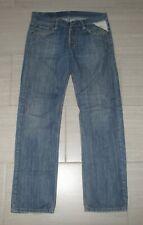 REPLAY Denim Medium Wash Blue Jeans STRAIGHT LEG MENS 34 x 34 *Pre-Owned VINTAGE