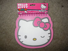 Sanrio Hello Kitty Pnk 80 Sheet Diecut Notepad By Horizon Group Usa 54108 New!